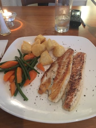 Rickmansworth, UK: The tasty sea bass special