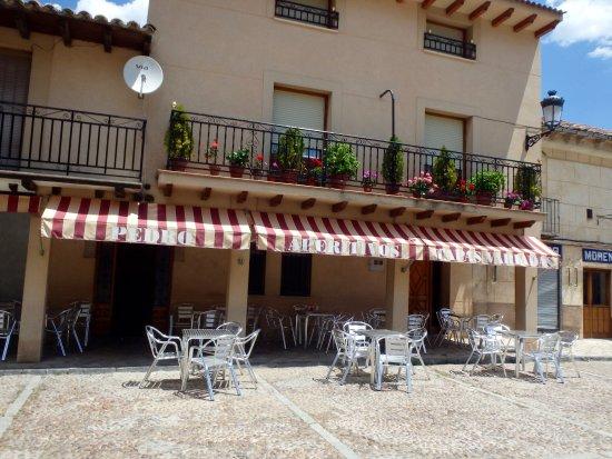 Atienza, Spanien: Bar frontage