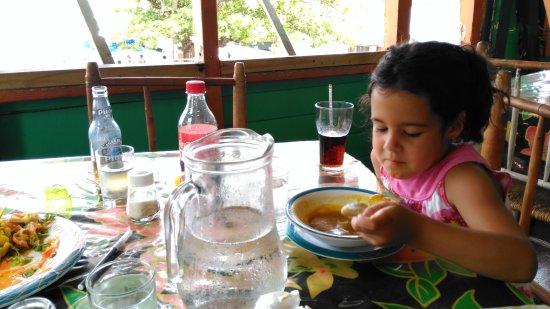 Water Front De Belle View: My daughter loved the pumpkin soup