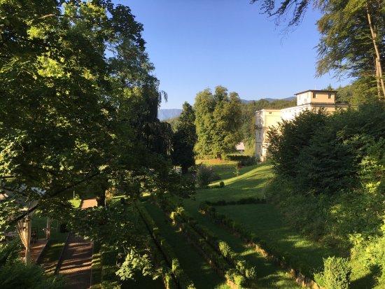 Vila Podvin: View from balcony of room 107
