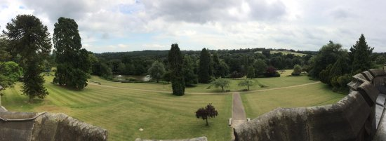 Wych Cross, UK: view from room 43