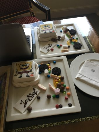 Four Seasons Hotel Cairo at the First Residence: Arranged by management for the kids.