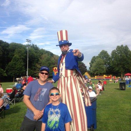 Hamilton Veterans Park: Uncle Sam