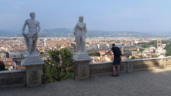 The Bardini terrace. - Picture of Giardino Bardini, Florence ...