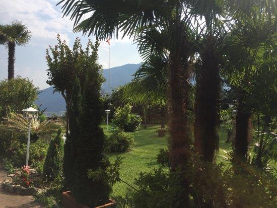 Rovio, Switzerland: Il giardino e la vista