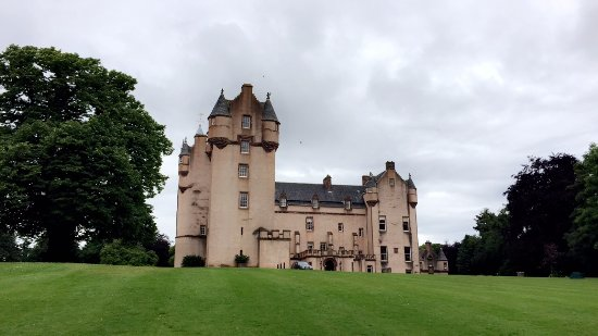This is the stunning Fyvie Castle - a great day out for all of the family.