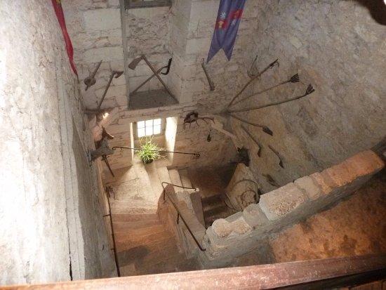 Escalier Intérieur - Bild von The Maison Forte de Reignac, Tursac ...