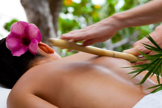 Канил-Бей, Сент-Джонс: Enjoy a soothing massage in our private cabanas