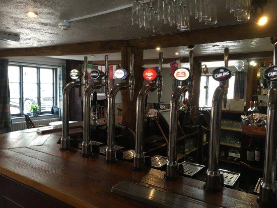 Barton under Needwood, UK: Main Bar