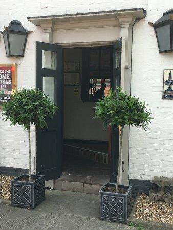 Barton under Needwood, UK: Front Door