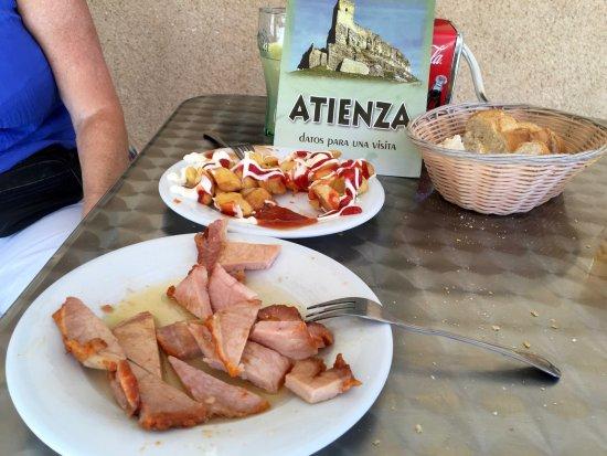 Atienza, España: Delicious Pork