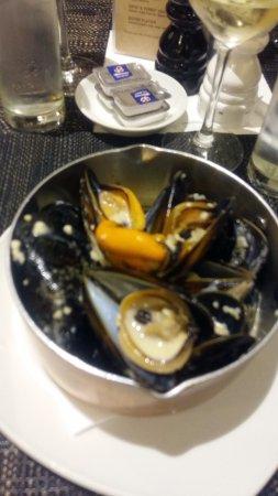 Strand, แอฟริกาใต้: mussels