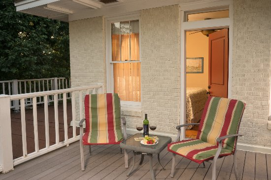 เจฟเฟอร์สัน, เท็กซัส: Room 1 balcony