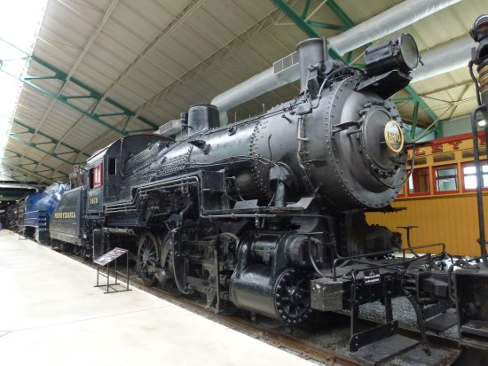 Strasburg, PA: Just one of the locos in the museum.