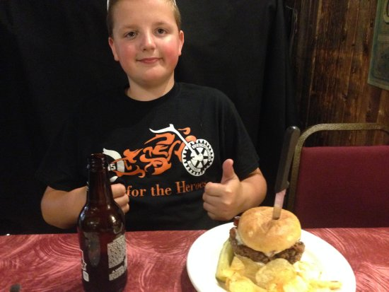 Forksville, Pensilvania: Cheese Burger