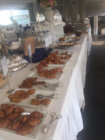 Atlantic Hotel Riccione: una parte della colazione