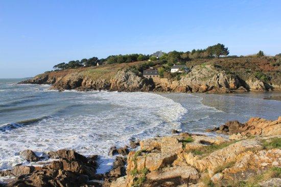 plage de rospico - picture of chambre d'hotes de pont-c'hoat