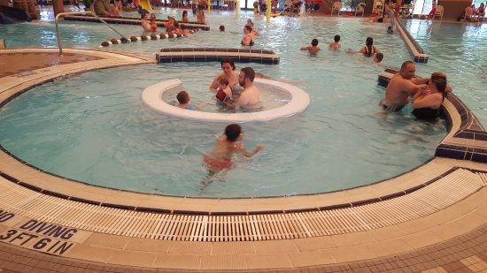Saint George, UT: Swirling pool