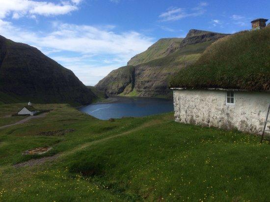 Et af de smukkeste steder at besøge på Streymoy - her er en fantastisk natur og en ro, der er sv