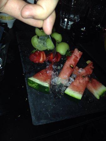 Heraklion Prefecture, Greece: Nice surprise followed our dinner