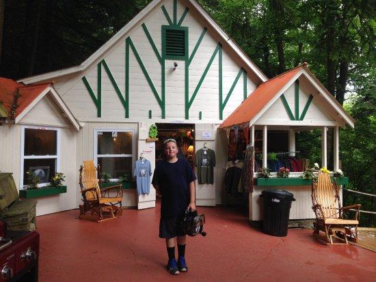 Coudersport, Pennsylvanie : the gift shop