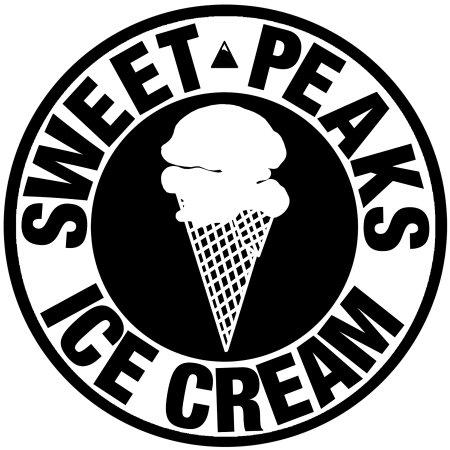 Sweet Peaks - Homemade Ice Cream: logo