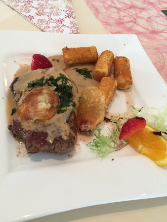 Wurselen, Jerman: rump steak