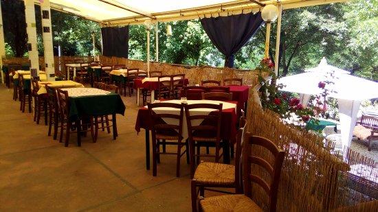 Vicchio, Italia: Sala all'aperto