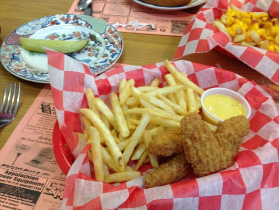 Benezett, PA: chicken tenders basket