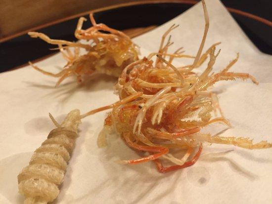 Tenkane, Shinjuku Odakyu HALC: Shrimp heads