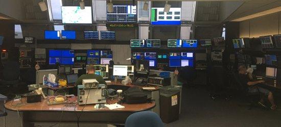Fermi National Accelerator Laboratory: control room for LINAC (linear accelerator)
