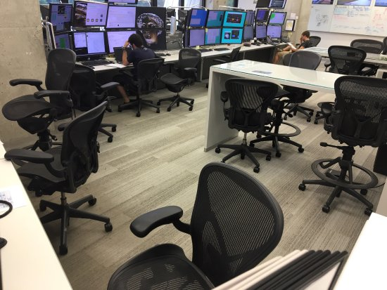 Fermi National Accelerator Laboratory: control room for neutrino experiments