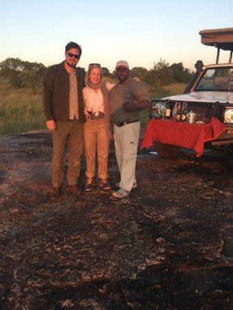 Serengeti Bushtops Camp : our great guide Richard