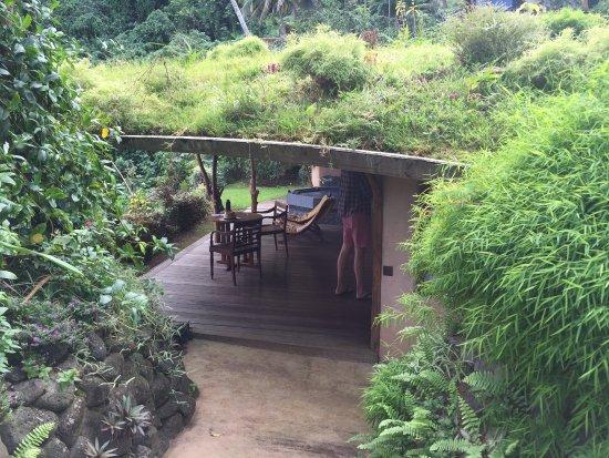 Teahupoo, Fransk Polynesia: Vai Iti bungalow