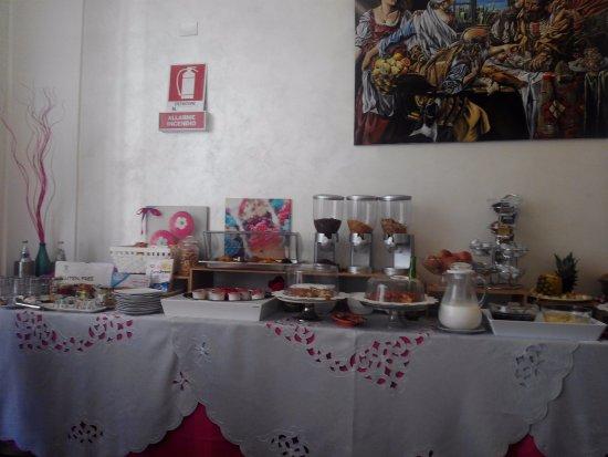 Artemisia Palace Hotel: Buffet desayuno