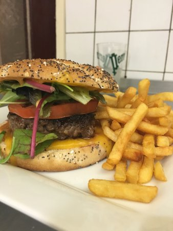 Lons-le-Saunier, Fransa: Burger maison