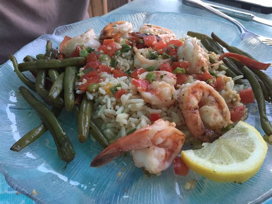McGlade's on the Pier: Shrimp Scampi