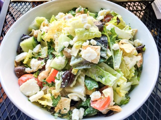 San Rafael, CA: MPK Fattoush salad