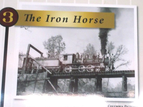 The Iron Horse, Railtown 1897 State Historic Park, Jamestown, CA