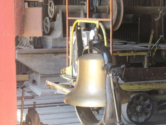 Train Bell, Railtown 1897 State Historic Park, Jamestown, CA