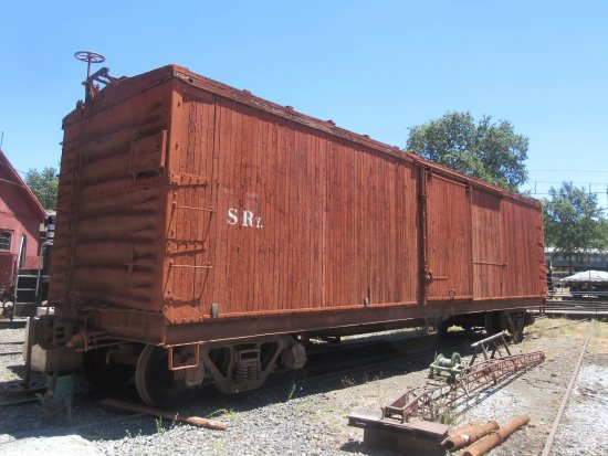 Train Car, Railtown 1897 State Historic Park, Jamestown, CA