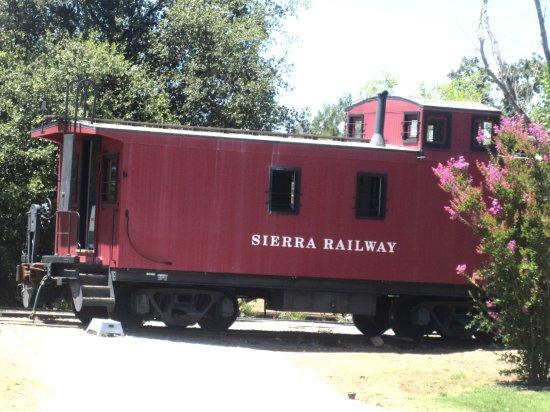 เจมส์ทาวน์, แคลิฟอร์เนีย: Sierra Railway Caboose, Railtown 1897 State Historic Park, Jamestown, CA
