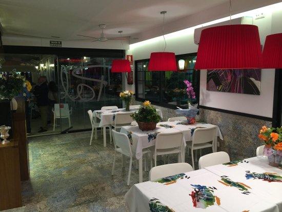 Pizzería Restaurante Palette: Nuevo salón interior