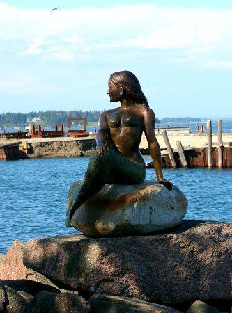The Mermaid A Bronze Statue By Richard Klyver Eastport