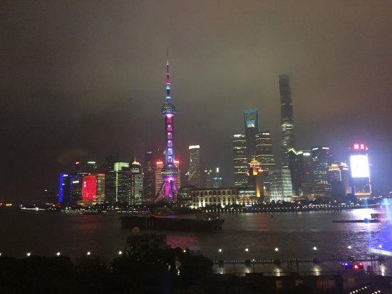 The Peninsula Shanghai: 早餐先點自己喜歡的主餐。美味可口!