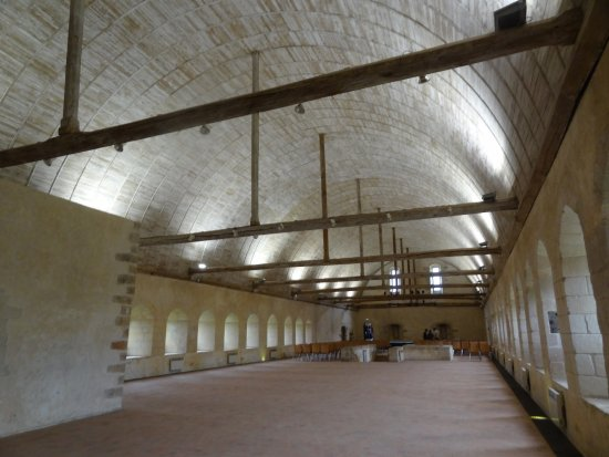 Abbaye de L'Epau: 1er étage : le dortoir