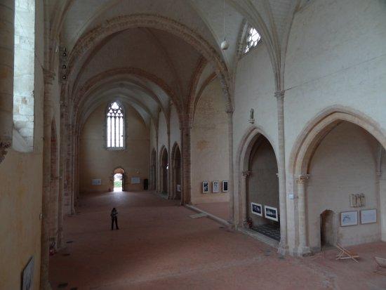 Abbaye de L'Epau: l'église abbatiale