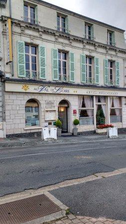 Les Rosiers sur Loire, Frankrijk: Logis de France Au Val De Loire
