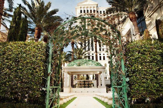 Juno Garden Wedding Venue Picture Of Caesars Palace Las Vegas
