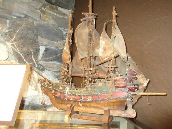 Boat Model in Museum, Iroonstone Vineyards, Murphys, CA